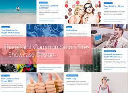 Sharepoint Website Examples Week 7 Hitchhikers Guide Sharepoint Communication Sites