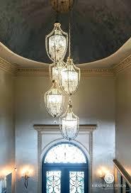 chandelier entryway wrought iron foyer chandelier