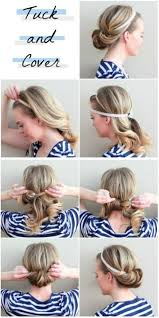 Hairstyle Yourself tuck and cover hair & stuff pinterest hair tuck do it 4579 by stevesalt.us