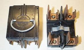 cutler hammer range main amp fuse pull out holder bull  american 60 amp main switch fuse panel pull out fuse holder vintage