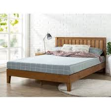 King bed frame wood White Morgan Hill Wood Platform Bed Wayfair King Size Wood Beds Youll Love Wayfair