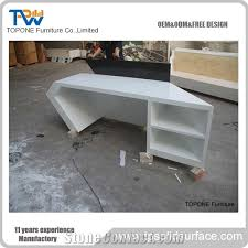 desk tops furniture. beautiful tops artificial marble stone white and black color office reception desk tops  corian acrylic solid surface recpetion counter tops with interior  to furniture