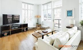 Nyc Bedroom 2 Bedroom 2 Bath Condo With Panoramic Nyc Lic Views Modernspaces Nyc