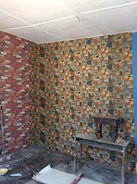 Wallpaper fixing - 3D Wall Paper And ...