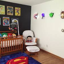 Marvel Bedroom Accessories Baby Nursery Superheroes Avengers Marvel Superman Baby Boy My