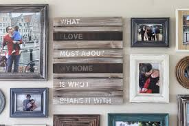rustic picture frames collages. Perfect Rustic Living Room Progress Rustic Frame Collage On Picture Frames Collages S