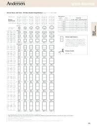 Andersen Fixed Window Size Chart Double Hung Window Sizes Chart Watchmyhouse Info