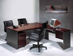 modern l shaped office desk. Furniture: Modern L-shaped Office Table With Rolling Chairs And Storage - Microsoft L Shaped Desk E