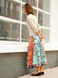 Simple Skirt Pattern Enchanting 48 Simple Sewing Patterns For Summer EverythingEtsy