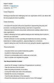 Ultimate Guide To Writing Your Human Resources Resume Cv Sample