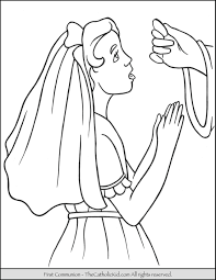 Eucharist Coloring Pages Glandigoartcom