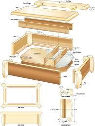 woodworking plans jewelry box