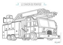 Coloriages Coloriage Camion Pompier Coloriage Camion Pompier