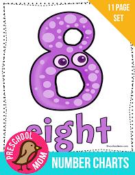 Number Preschool Printables - Preschool Mom