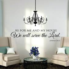 chandelier wall decal chandelier wall decal canada chandelier wall decal as for me and my house wall decals es wall art scripture