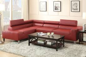 Leather Sectional Living Room Furniture Comfortable Living Room Sofas Design With Faux Leather