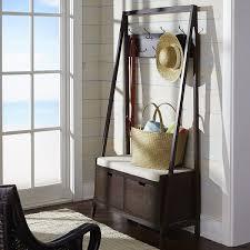 Pottery Barn Coat Rack Hall Stand Entryway Coat Rack And Storage Bench Stunning Tall 42
