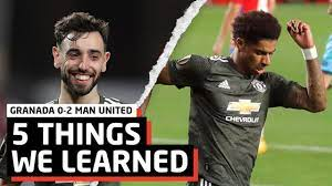 Defence Wins Titles! | 5 Things We Learned Vs Granada | Granada CF 0-2 Manchester  United - YouTube