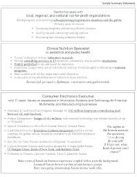 Profile Example Resume Personal Profile Resume Sample Bitacorita