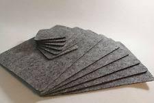 table mats. grey placemats \u0026 coaster simple shape rectangle felt table mats set of 12 pieces
