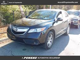 2015 Used Acura RDX AWD 4dr at Honda of Fayetteville Serving ...