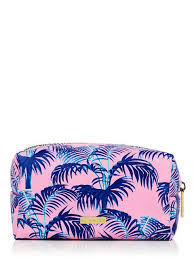 skinnydip palm print make up bag