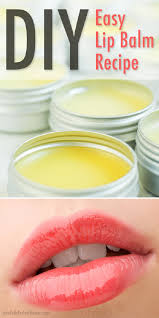 easy diy lip balm recipe