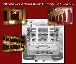 opera house seating chart best photo op