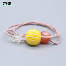 <b>CYHGM girls</b> elastic <b>hair</b> bands satin scrunchie haar elasriekjes ...
