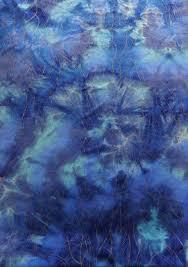 Nylon Spandex Tie Dye Design with Clear Glitters