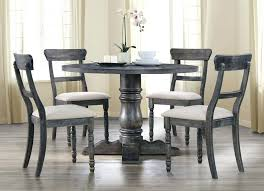 extraordinary grey round dining table grey wooden dining table with bench