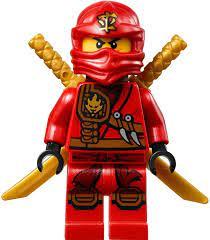Buy LEGO Ninjago Minifigure - Kai Zukin Robe (Red Ninja) with Dual Gold  Swords (70745) Online in Taiwan. B00TLWO0LS
