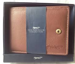 Paul Costelloe Collection Brown Men Wallet Rrp 90 Brand New
