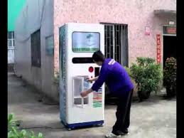 Machine Vending China Unique Water Vending Machine From China YouTube