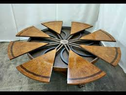 expanding round table. Amazing Expanding Round Tables Compilation Table