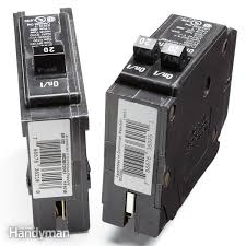how circuit breakers work the family handyman how to read fuse box in car add more breakers to a full fuse box
