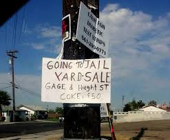 Make A For Sale Sign Yard Sale Sign Of The Week Maybe You Shouldnt Sell Coke