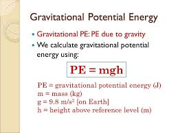 kinetic and gravitational potential energy ppt potential energy equation jennarocca