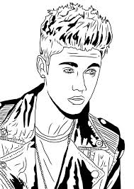 Small Picture Justin Bieber Under the Mistletoe Coloring Page NetArt