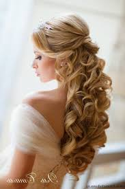 Hairstyles For Weddings 2015 Wedding Hairstyles For Long Hair Half Up With Veil Wedding