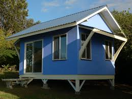 Small Picture Blue House With Low Cost And Minimalist Design Ideas Also White