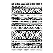 modern black and white rug ivy geometric tribal black white area rug black white rug red