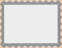 Free Printable Blank Award Certificate Templates Gift