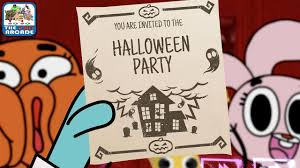 the amazing world of gumball haunted house prank get pranked cartoon network games