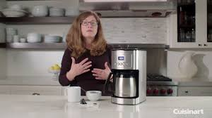 In general, our taste testers liked this brew, although a few panelists found it too weak for their palates and scored it a little. 12 Cup Programmable Thermal Coffeemaker Demo Dcc 3400 Youtube