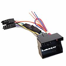 pc9 417 audi car iso wiring harness for rear active speaker system iso wiring harness connector Iso Wiring Harness #47