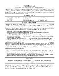 Sample Civil Engineer Resume Objective Mechanical Engineering