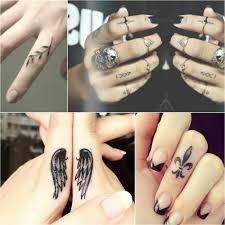 тату на пальце стильные тату для ценителей минимализма
