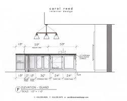 ... Inspiring Ideas Standard Kitchen Island Size Standard Kitchen Island  Sizes ...