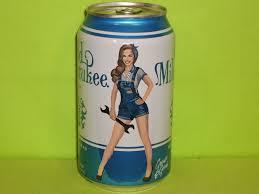 Old Milwaukee Light Pin Up Series Schlitz Light Beer Can